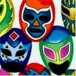 Mascaras de Pelea - Lucha Libre Wrestlers' Masks - BACK IN STOCK!