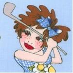 You Golf Girl! Swingers on Blue- BACK IN STOCK!