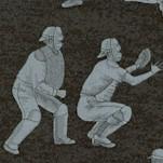 Batter Up! Baseball Scenes in Shades of Gray