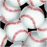 Batter Up! Tossed Baseballs on Black