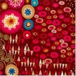 Aurelia Abstract - Gilded Klimt-Inspired Collage