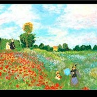 Tribute to Monet Panel - SOLD BY THE PANEL