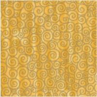 Tivoli - Klimt-Inspired Gilded Scroll on Gold