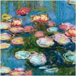 Monet Style Water Lilies - Digital Print - BACK IN STOCK!