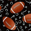 Tossed Footballs on Playbook Diagrams - BACK IN STOCK!