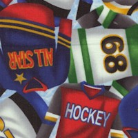 Love of the Game - Colorful Packed Hockey Shirts