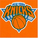 The New York Knicks - Tossed Logos - LTD. YARDAGE AVAILABLE