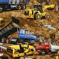 Construction Site Truck Scenes