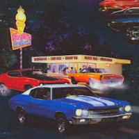 On the Road - Vintage Cars and Diners