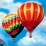 Everyday Favorites - Small Scale Hot Air Balloons in the Sky