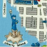 Passport - Illustrated Map of Manhattan