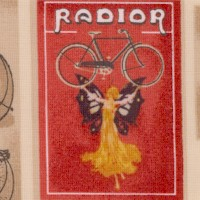Heirloom Diary - Vintage Bicycle Poster Collage by Nicoletta Pagano