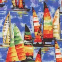 Portofino - Colorful Small Scale Sailboats
