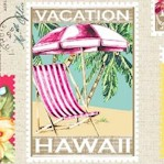Lost in Paradise - Tropical Getaway Postage Stamps (Digital)