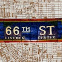 New York State of Mind - City Subway Stops on Map