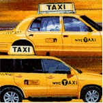 NY State of Mind - Taxi! by Maria Kalinowski