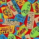 Paddington's Travels - Tossed Travel Tags