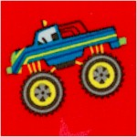 Monster Trucks on Red
