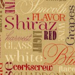 Wine Tasting - Wine Variety Name Collage - SALE!