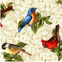 Songbird Serenade by James Meger - LTD. YARDAGE AVAILABLE