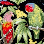 Birds of Paradise 2 - LTD. YARDAGE AVAILABLE