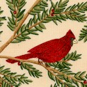 Winter Story - Beautiful Cardinals by Deb Strain
