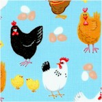 Farm Life - Hens, Roosters, Chicks and Eggs by Kate Mandsky
