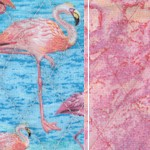 Reversible Quilted, Fabulous Flamingos!  - BACK IN STOCK!