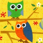 Ten Little Things - Adorable Owls on Gold