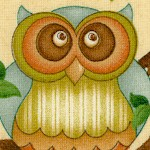 Life;s a Hoot - Whimsical Owls on Beige