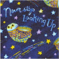 Stay Wild, Moon Child - Never Stop Looking Up by Debbie Hron