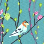 Petal and Plume - Delicate Songbirds on Branches