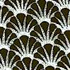 Night and Day - Black and White Scallop Shells