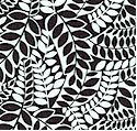 Masquerade Too - Leafy Branch Collage in Black and White
