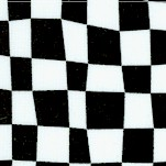 Super Speedway - Black and White Flag