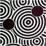 Night and Day - Black and White Circles
