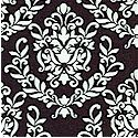Petite Damask in Black and White by Andrea Victoria for My Mind's Eye