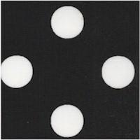 Dots - White Polka Dots on Black