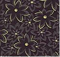 Far East Expressions - Gilded Packed Flowers by Faye Burgeos - LTD. YARDAGE AVAILABLE (.33 YD) MUST