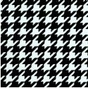 Black and White Collection - Houndstooth (MISC-houndstooth-P859)