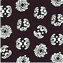 The Lulu Collection - Decorative Medallions in Black and White