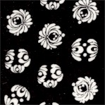 Lulu Collection -Small Scale Black and White Motifs by Sisters Gulassa