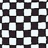 Small Scale Black and White Checkerboard #2