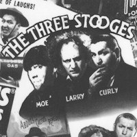 The Three Stooges Collage - 58 Inches Wide!