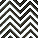 Remix - Black and White Medium Scale Chevron Stripe by Ann Kelle  - BACK IN STOCK!