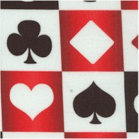 Card Game Grid - Card Suit Checkerboard